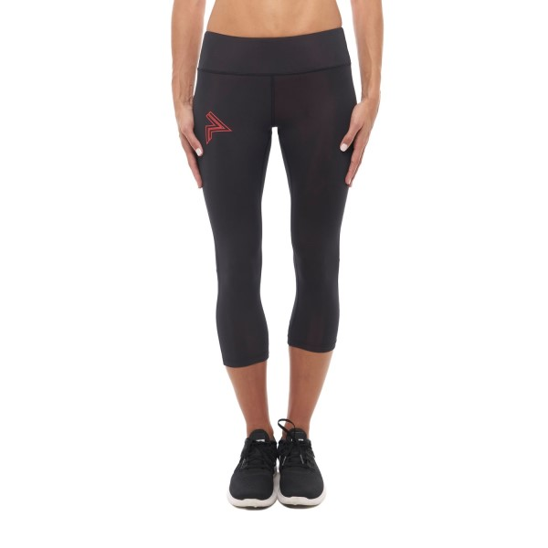 Running Republic Airiders Vapour Womens Compression Tights - Black