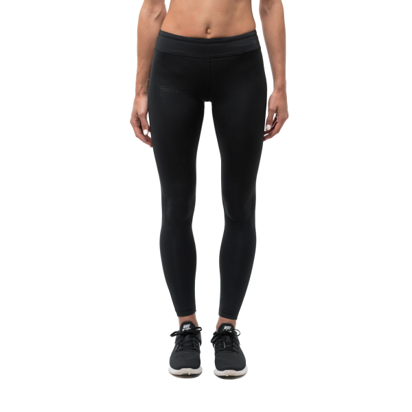 Running Republic Stealth Carbon Womens Compression Tights - Black